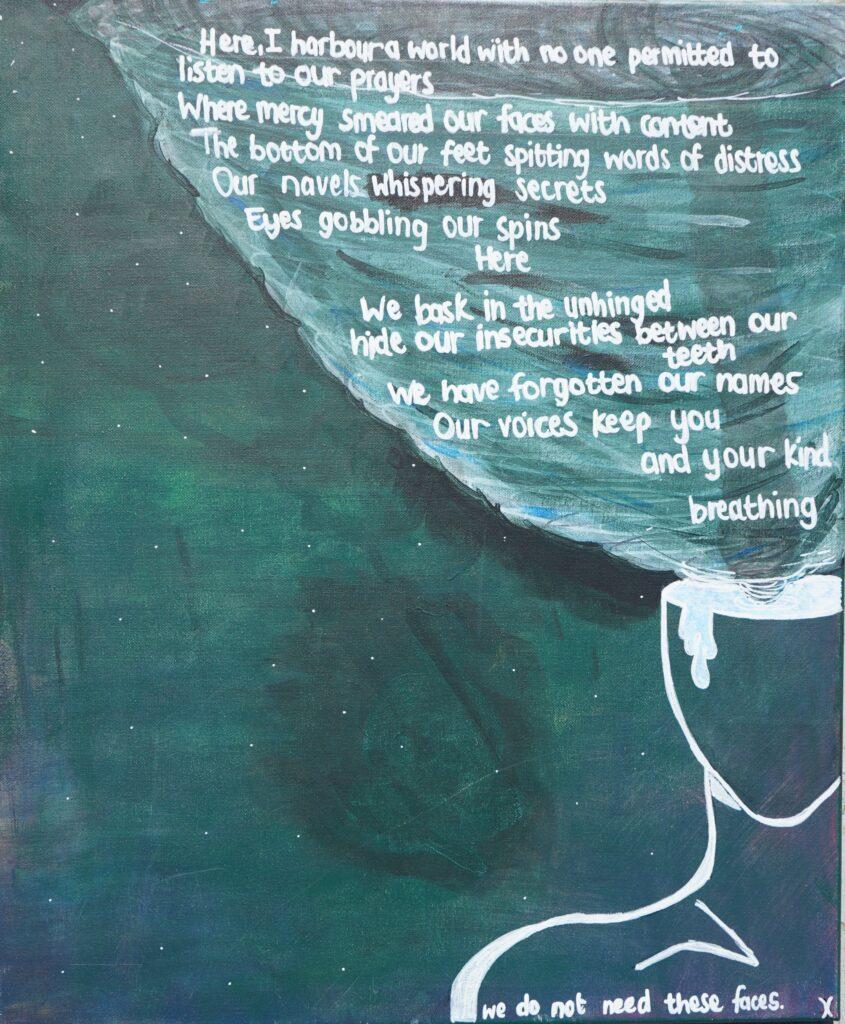 How should I make peace with the sadness by Phelisa Sikwata